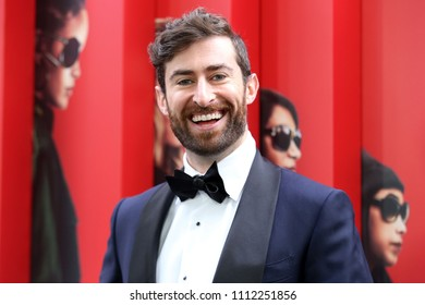 "NEW YORK - JUNE 5, 2018:  Scott Rogowsky attends the premiere ""Ocean's 8"" at Alice Tully Hall on June 5, 2018, in New York City."