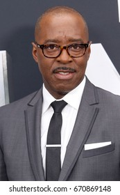 "NEW YORK - JUNE 6, 2017:  Courtney B. Vance attends the premiere of ""The Mummy"" at the AMC Lincoln Square Theater on June 6, 2017 in New York City."