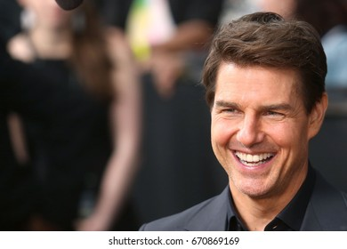 "NEW YORK - JUNE 6, 2017:  Tom Cruise attends the premiere of ""The Mummy"" at the AMC Lincoln Square Theater on June 6, 2017 in New York City."