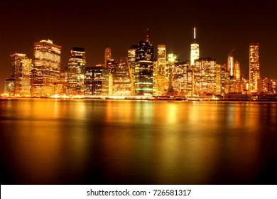 New York Manhattan Skyline!