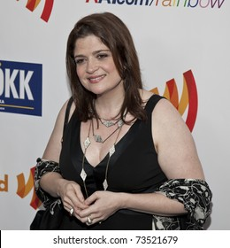 NEW YORK - MARCH 19: Alex Guarnaschelli attends the 22nd Annual GLAAD Media Awards at The New York Marriott Marquis on March 19, 2011 in New York City.