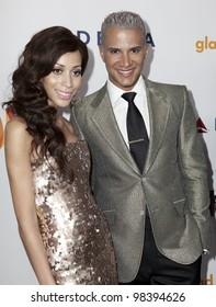 NEW YORK - MARCH 24: Isis King and Jay Manuel attend the 23rd Annual GLAAD Media Awards presented by Ketel One and Wells Fargo at Marriott Marquis Theater on March 24, 2012 in New York City.