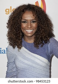 NEW YORK - MARCH 24: Janet Mock attends the 23rd Annual GLAAD Media Awards presented by Ketel One and Wells Fargo at Marriott Marquis Theater on March 24, 2012 in New York City.