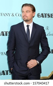 """NEW YORK - MAY 1: Leonardo DiCaprio attends the premiere of """"The Great Gatsby"""" at Avery Fisher Hall on May 1, 2013 in New York City."""
