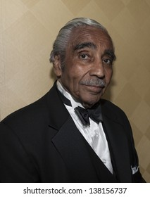 NEW YORK - MAY 11: Congressman Charles Rangel attends a reception for the 2013 Ellis Island Medals of Honor at Ritz Carlton Battery Park on May 11, 2013 in New York City.