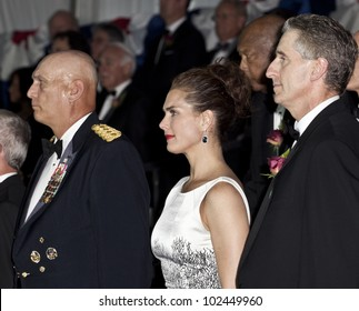 NEW YORK - MAY 12: General Raymond Odierno Chief of Staff US Army, Brooke Shields & Robert Duffy attend the 2012 Ellis Island Medals of Honor ceremony on Ellis Island on May 12, 2012 in New York