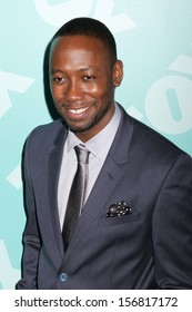NEW YORK - MAY 13: Lamorne Morris attends the 2013 Fox Upfront at Wollman Rink on May 13, 2013 in New York City.