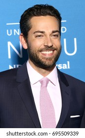 NEW YORK - MAY 15, 2017: Zachary Levi attends the 2017 NBCUniversal Upfront on May 15, 2017, in New York.