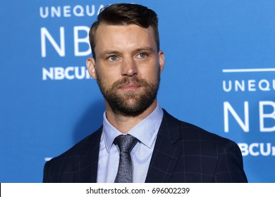 NEW YORK - MAY 15, 2017: Jesse Spencer attends the 2017 NBCUniversal Upfront on May 15, 2017, in New York.