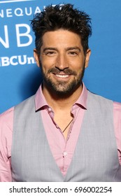 NEW YORK - MAY 15, 2017: David Chocarro attends the 2017 NBCUniversal Upfront on May 15, 2017, in New York.