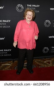 NEW YORK - MAY 17: Dr. Ruth Westheimer attends The Paley Honors: Celebrating Women in Television at Cipriani Wall Street on May 17, 2017 in New York City.