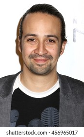 NEW YORK - MAY 20, 2016:  Lin-Manuel Miranda attends the Drama League Awards at the Marriot Marquis on May 20, 2016 in New York City.