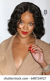 NEW YORK - MAY 22, 2017: Rihanna attends the 69th annual Parsons Benefit at Chelsea Piers on May 22, 2017, in New York.
