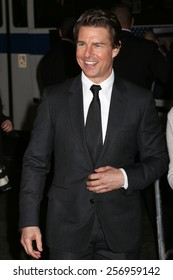 NEW YORK - MAY 29, 2014: Tom Cruise sighting on May 29, 2014 in New York City.