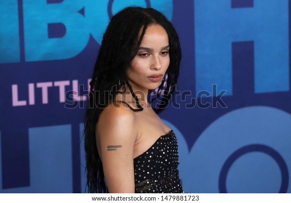 """NEW YORK - MAY 29, 2019: Zoe Kravitz attends the season 2 premiere of """"Big Little Lies"""" at Jazz at Lincoln Center on May 29, 2019, in New York City."""