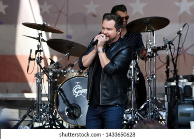 NEW YORK - MAY 31: Mike Eli of the Eli Young Band performs in concert at the FOX and Friends All-American Concert Series on May 31, 2019 in New York City.