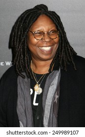 "NEW YORK - NOV 17, 2014: Whoopi Goldberg attends the premiere of ""The Imitation Game"" at the Ziegfeld Theatre on November 17, 2014 in New York City."