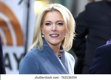 NEW YORK - NOV 17, 2017: Megyn Kelly appears NBC Today Show on November 17, 2017, in New York City.