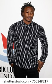 NEW YORK - NOV 2, 2017: Brandon Marshall attends the Samsung Charity Gala at Skylight Clarkson Sq on November 2, 2017, in New York City.