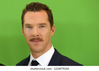 "NEW YORK - NOV 3, 2018:  Benedict Cumberbatch attends the premiere of ""The Grinch"" at the Alice Tully Hall on November 3, 2018 in New York City."