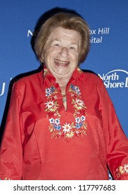 NEW YORK - NOVEMBER 05: Dr. Ruth Westheimer attends Lenox Hill hospital Autumn ball, award ceremony and fundraising to hurricane SAndy victims in Waldorf Astoria Hotel on November 05, 2012 in NYC