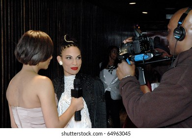 NEW YORK - NOVEMBER 11: Singer Goapele attends the 5TH Anniversary and Relaunch Experience for ConcreteLoop.com. Presented by Kodak at the Hiro Ballroom, New York, on November 11, 2010.
