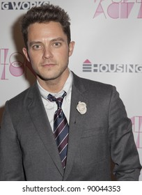 NEW YORK - NOVEMBER 16: Musician Eli Lieb attends Fashion for Action 2011 by Housing Works at Altman Building on November 16, 2011 in NYC