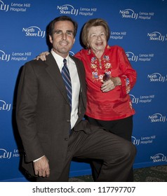 NEW YORK - NOVEMBER 5: Bob woodruff & Dr. Ruth Westheimer attend Lenox Hill hospital Autumn ball, award ceremony and fundraising to hurricane SAndy victims in Waldorf Astoria on November 5 2012 in NYC
