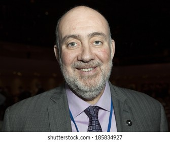 NEW YORK, NY - APRIL 06, 2014: Israeli Ambassador Ron Prosor attends Jerusalem Post Annual Conference in Marriott Marquis Times Square