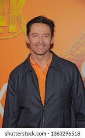 NEW YORK, NY - APRIL 07: Hugh Jackman attends 'Missing Link' New York Premiere at Regal Cinema Battery Park on April 07, 2019 in New York City.
