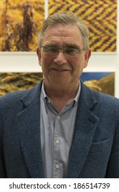 NEW YORK, NY - APRIL 08, 2014: Chairman Brian Wilson of Harris Tweed attends launch of Fashion Sharing Progress program at GCU New York