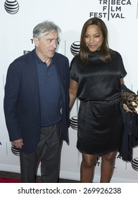 New York, NY - April 15, 2015: Robert De Niro and Grace Hightower attend Tribeca Film Festival opening night screening of Live From New York at Beacon Theater