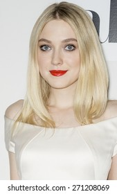 NEW YORK, NY - APRIL 17: Actress Dakota Fanning attends the premiere of 'Franny' during the 2015 Tribeca Film Festival at BMCC Tribeca PAC