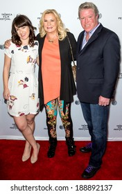 NEW YORK, NY - APRIL 18: (L-R) Director Susanna Foge and executive producers Anne O'Shea and Brian Quattrini attend the 'Life Partners' premiere during the 2014 Tribeca Film Festival at SVA Theater