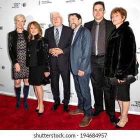 NEW YORK, NY - APRIL 18: C Richards, M Thomas, P Donahue, P Schopper, Ke Patterson and C Glassell attend the 'All About Ann: Gov Richards of the Lone Star State' during the 2014 Tribeca Film Festival