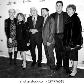 NEW YORK, NY - APRIL 18: C Richards, M Thomas, P Donahue, P Schopper, K Patterson, C Glassell attend the 'All About Ann: Governor Richards of the Lone Star State' during the 2014 Tribeca Film Festival