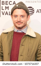 NEW YORK, NY - APRIL 20: Elijah Wood attends the screening of a movie during the Tribeca Film Festival at SVA Theatre on April 20, 2018 in New York City.