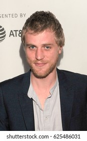 NEW YORK, NY - APRIL 20: Actor Johnny Flynn attends the Tribeca: TV: 'Genius' World Premiere during the 2017 Tribeca Film Festival at BMCC Tribeca PAC on April 20, 2017 in NYC.