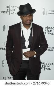 New York, NY - April 21, 2015: Ne-Yo attends Tribeca Film Festival screening of On The Town movie at Spring Studios