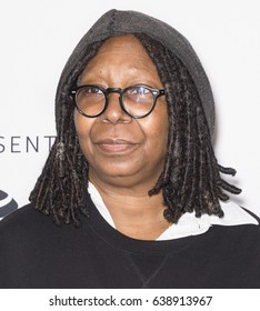 NEW YORK, NY - APRIL 22, 2017: Whoopi Goldberg attends Animated Shorts curated by Whoopi Goldberg during the 2017 Tribeca Film Festival at SVA Theatre