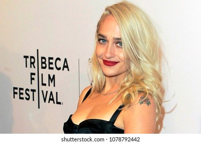 NEW YORK, NY - APRIL 23: Jemima Kirke attends the screening of 'Untogether' during the 2018 Tribeca Film Festival at SVA Theatre on April 23, 2018 in New York City.