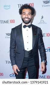 New York, NY - April 23, 2019: Mohamed Mo Salah attends the TIME 100 Gala 2019 at Jazz at Lincoln Center