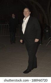 New York, NY - April 23, 2014: Harvey Weinstein attends the Vanity Fair Party during the 2014 Tribeca Film Festival at the State Supreme Courthouse