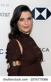 NEW YORK, NY - APRIL 24: Actress Rachel Weisz attends the 'Disobedience' premiere during the 2018 Tribeca Film Festival at BMCC Tribeca PAC on April 24, 2018 in New York City.