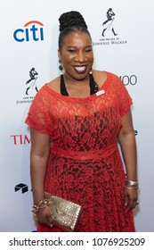 New York, NY - April 24, 2018: Tarana Burke attends 2018 Time 100 Gala at Jazz at Lincoln Center