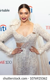 New York, NY - April 24, 2018: Deepika Padukone attends 2018 Time 100 Gala at Jazz at Lincoln Center