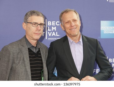 NEW YORK, NY - APRIL 24: Director Rob Epstein (R) and Jeffrey Friedman attend Tribeca Talks: After The Movie: Battle Of amFAR during the 2013 Tribeca Film Festival on April 24, 2013 in New York City.