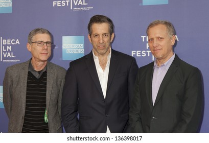 NEW YORK, NY - APRIL 24: Director Rob Epstein, Kenneth Cole and Jeffrey Friedman attend Tribeca Talks: After The Movie: Battle Of amFAR during the 2013 Tribeca Film Festival on April 24, 2013 in NYC
