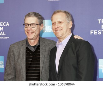 NEW YORK, NY - APRIL 24: Director Rob Epstein and Jeffrey Friedman attend Tribeca Talks: After The Movie: Battle Of amFAR during the 2013 Tribeca Film Festival on April 24, 2013 in New York City.