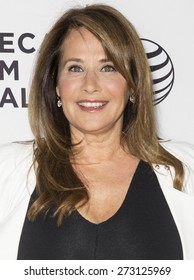 NEW YORK, NY - APRIL 25. 2015: Actress Lorraine Bracco attends the closing night screening of 'Goodfellas' during the 2015 Tribeca Film Festival at Beacon Theatre